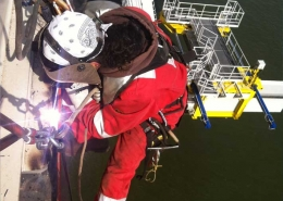 Sea Installer rope access
